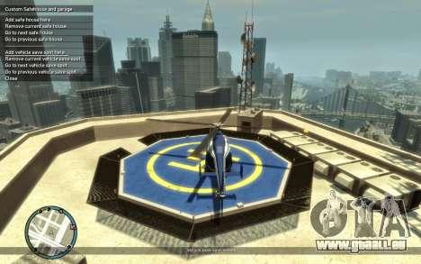 Custom Safehouse and Garage Script v1.1 für GTA 4 dritte Screenshot