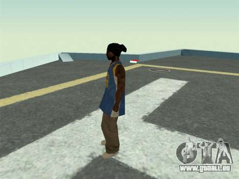 Ballas1 New Skin für GTA San Andreas dritten Screenshot
