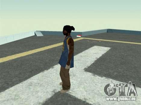 Ballas1 New Skin für GTA San Andreas dritten Screenshot