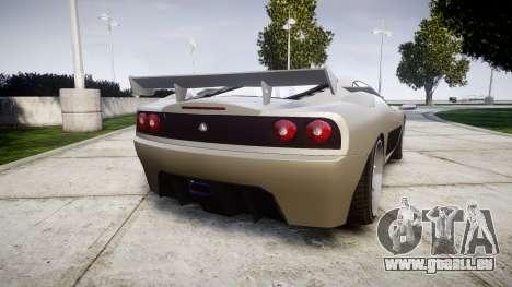 Grotti Turismo Final pour GTA 4 Vue arrière de la gauche