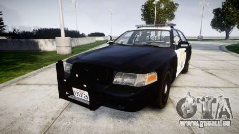 Ford Crown Victoria Highway Patrol [ELS] Liberty pour GTA 4