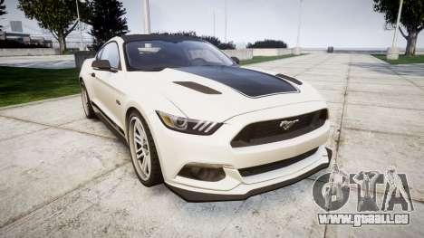 Ford Mustang GT 2015 Custom Kit black stripes gt für GTA 4