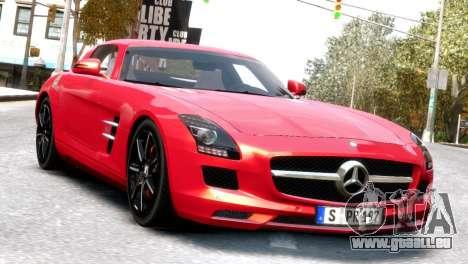 Mercedes-Benz SLS AMG 2011 [EPM] pour GTA 4