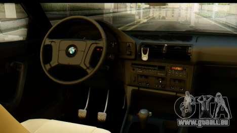 BMW 525i E34 für GTA San Andreas rechten Ansicht