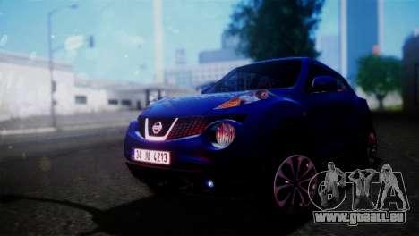 Nissan Juke 2012 pour GTA San Andreas