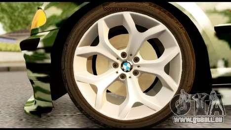 BMW M3 E46 TSK pour GTA San Andreas sur la vue arrière gauche