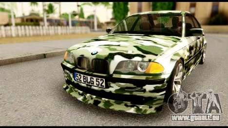 BMW M3 E46 TSK pour GTA San Andreas