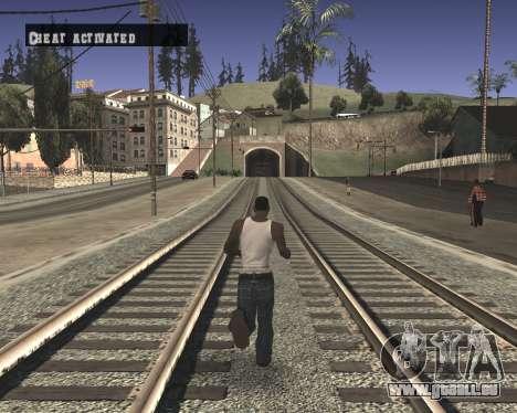 Colormod High Black pour GTA San Andreas