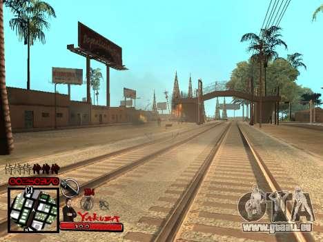 C-HUD Yakuza pour GTA San Andreas cinquième écran