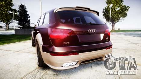 Audi Q7 2009 ABT Sportsline [Update] rims2 pour GTA 4 Vue arrière de la gauche