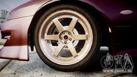Nissan Silvia S14 Sil80 pour GTA 4 Vue arrière