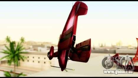 Beta Stuntplane pour GTA San Andreas vue arrière