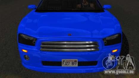 Bravado Buffalo Sedan v1.0 (IVF) pour GTA San Andreas sur la vue arrière gauche