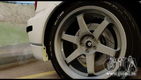 Honda Civic 1.4 Mehmet ALAN pour GTA San Andreas vue de droite