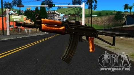 Lumineux AKS-74U v1 pour GTA San Andreas