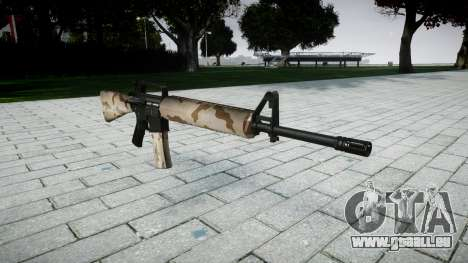 Die M16A2 Gewehr sahara für GTA 4