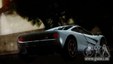 McLaren F1 Autovista pour GTA San Andreas laissé vue