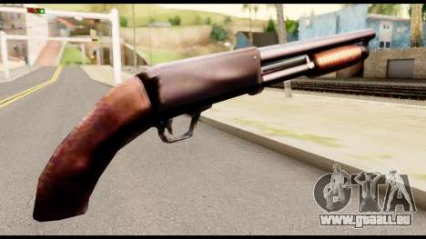 M37 from Metal Gear Solid pour GTA San Andreas deuxième écran