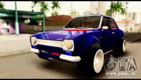Ford Escort MK1 Modifive für GTA San Andreas