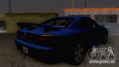 Nissan Silvia S15 Stock pour GTA San Andreas laissé vue