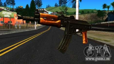 Lumineux AKS-74U v2 pour GTA San Andreas