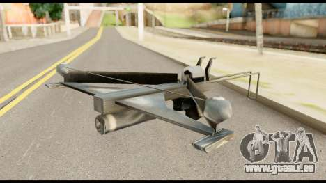Fear Crossbow from Metal Gear Solid für GTA San Andreas