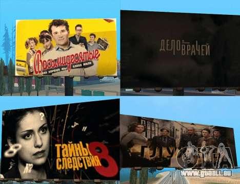 Remplacement de la publicité (bannières) pour GTA San Andreas cinquième écran