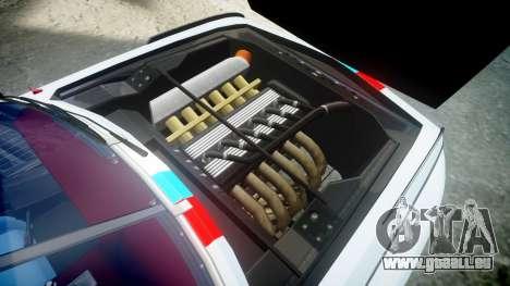 BMW 3.0 CSL Group4 pour GTA 4 Vue arrière