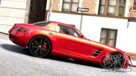 Mercedes-Benz SLS AMG 2011 [EPM] pour GTA 4 est une gauche