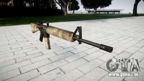 Die M16A2 Gewehr nevada für GTA 4
