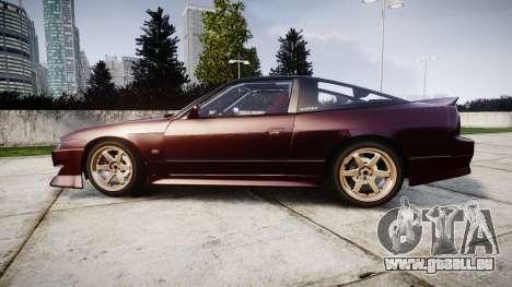 Nissan Silvia S14 Sil80 pour GTA 4 est une gauche
