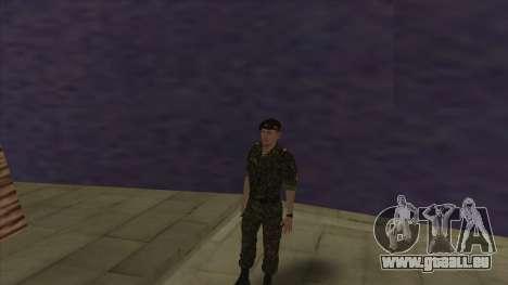 Le Corps des marines des forces armées pour GTA San Andreas sixième écran