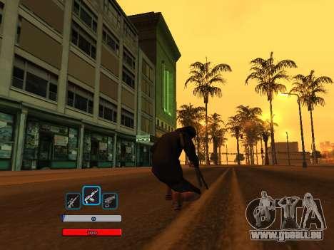 C-HUD by Fawkes (Fix) v2 pour GTA San Andreas deuxième écran