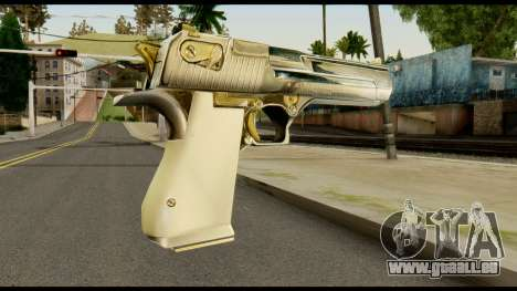 Desert Eagle from Max Payne für GTA San Andreas zweiten Screenshot