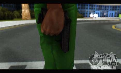 GTA ONLINE: SNS Pistol pour GTA San Andreas troisième écran