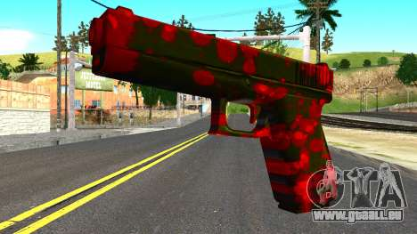 Pistol with Blood pour GTA San Andreas
