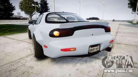 Mazda RX-7 RocketBunny für GTA 4 hinten links Ansicht