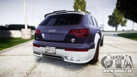 Audi Q7 2009 ABT Sportsline [Update] rims1 pour GTA 4 Vue arrière de la gauche