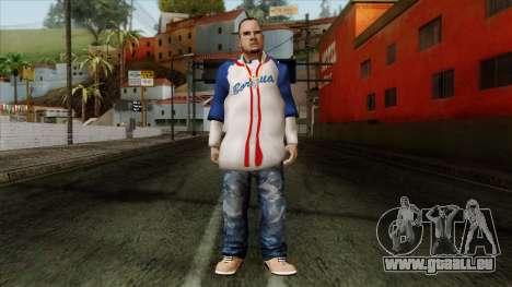 GTA 4 Skin 20 pour GTA San Andreas