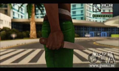 Messer Rumänischen CR1 für GTA San Andreas zweiten Screenshot