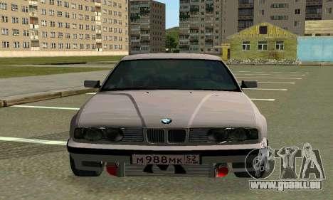 BMW 525 Turbo für GTA San Andreas linke Ansicht