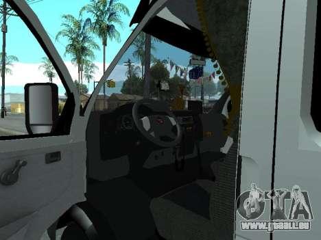 GAZelle 33023 Farmer pour GTA San Andreas vue arrière