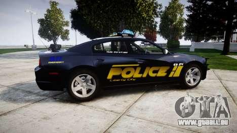 Dodge Charger RT 2013 LCPD [ELS] für GTA 4 linke Ansicht
