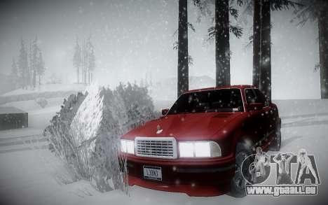 L'Hiver ENBSeries pour GTA San Andreas deuxième écran