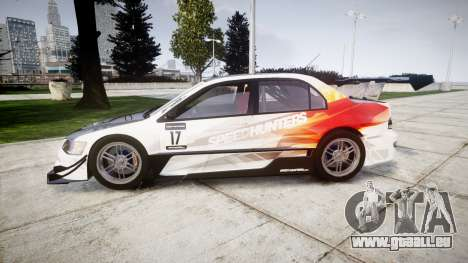Mitsubishi Lancer Evolution IX HQ für GTA 4 linke Ansicht