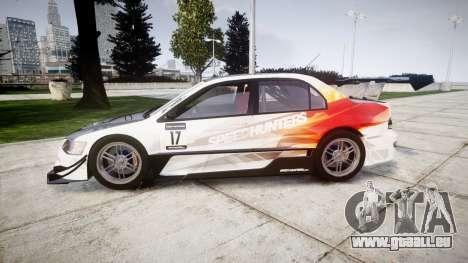 Mitsubishi Lancer Evolution IX HQ pour GTA 4 est une gauche