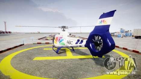 Eurocopter EC130 B4 NBC für GTA 4 hinten links Ansicht