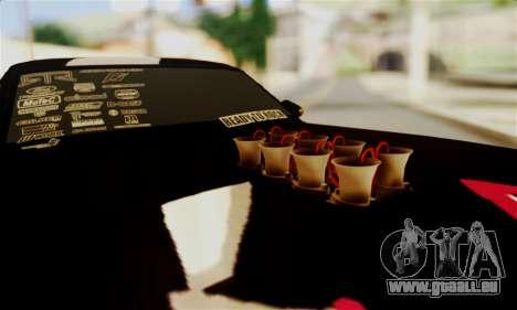 Ford Mustang RTR RedBull für GTA San Andreas Innenansicht