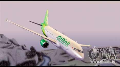 Citilink Airbus A320 PK-GLV für GTA San Andreas