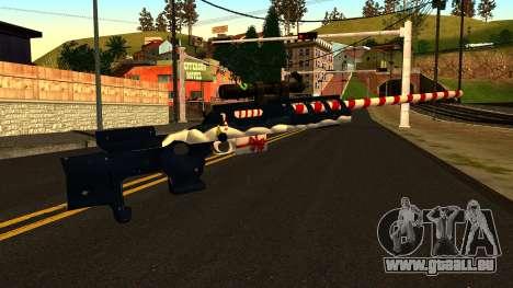 Neues Jahr-Scharfschützengewehr für GTA San Andreas zweiten Screenshot
